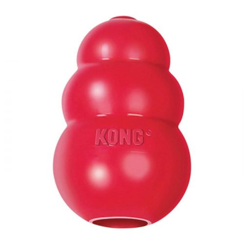 Kong Classic Red Rubber_Treat Dispensing Dog Toy