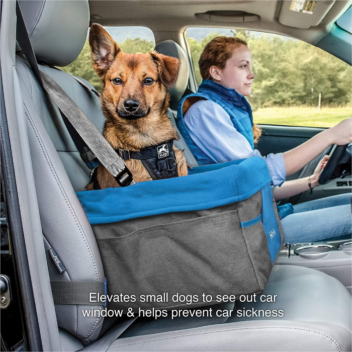 Kurgo Heather Booster seat for dogs_Features