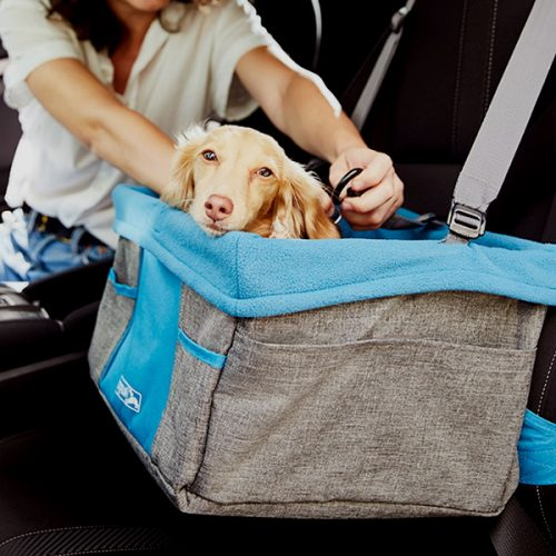 Kurgo Heather Car Booster seat for dogs