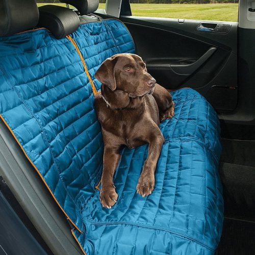 Kurgo Loft Bench Seat Cover for Dogs_Blue Side