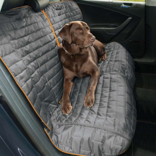 Kurgo Loft Bench Seat Cover for Dogs_Charcoal Side
