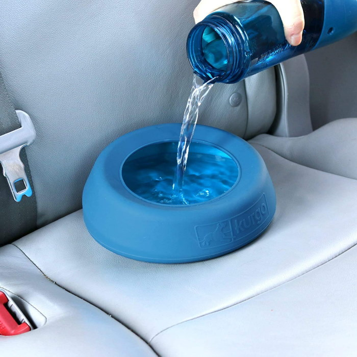 Kurgo Splash Free Travel Water Bowl