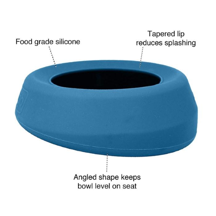 Kurgo Splash Free Travel Water Bowl_Features