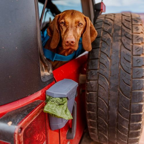 Kurgo Tailgate Dumpster_Dog Poo Bag storage