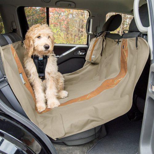 Kurgo Wander Hammock Car seat cover_Hampton Sand