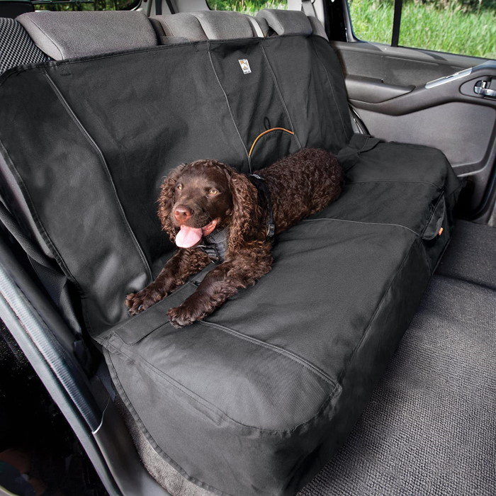 Kurgo Wander Waterproof Bench Seat Cover_Charcoal
