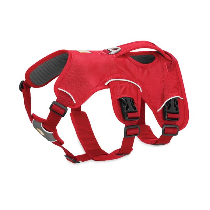 Ruffwear Web Master Harness Red_left