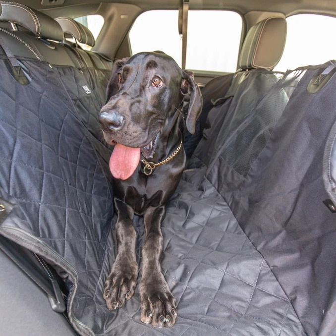 BLD Hammock Car Seat Cover for Dogs_Black