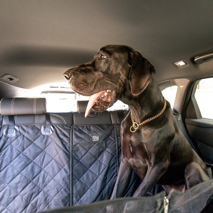 BLD Hammock Car Seat Cover for Dogs_Black_LS