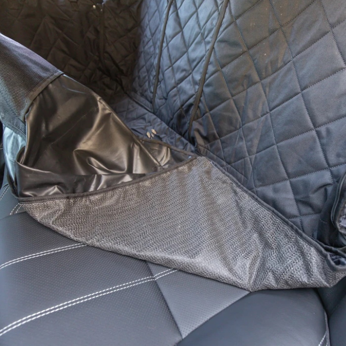 BLD Hammock Car Seat Cover for Dogs_Non slip backing
