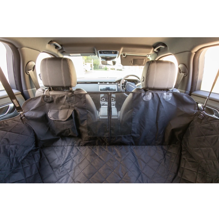 BLD Hammock Car Seat Cover for Dogs_mesh window_door protection