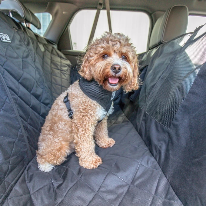 BLD Premium Hammock Car Seat Cover for Dogs