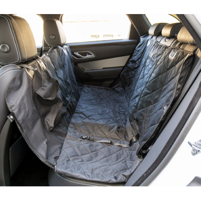 Big and Little Dogs_Hammock Car Seat Cover Black
