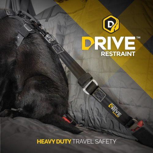 EzyDog DRIVE Heavy Duty Dog Car Seat Belt