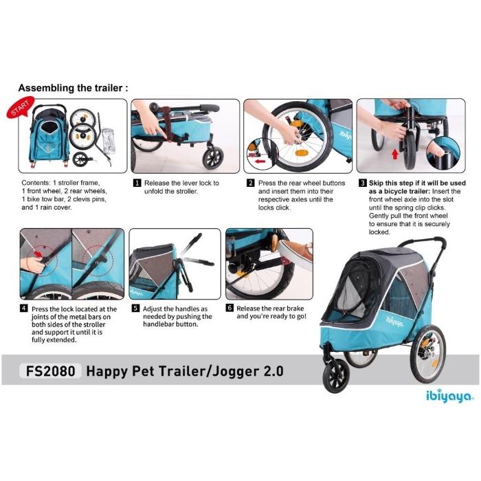 Ibiyaya-2-in-1-bike-trailer-stroller_Assembly-instructions