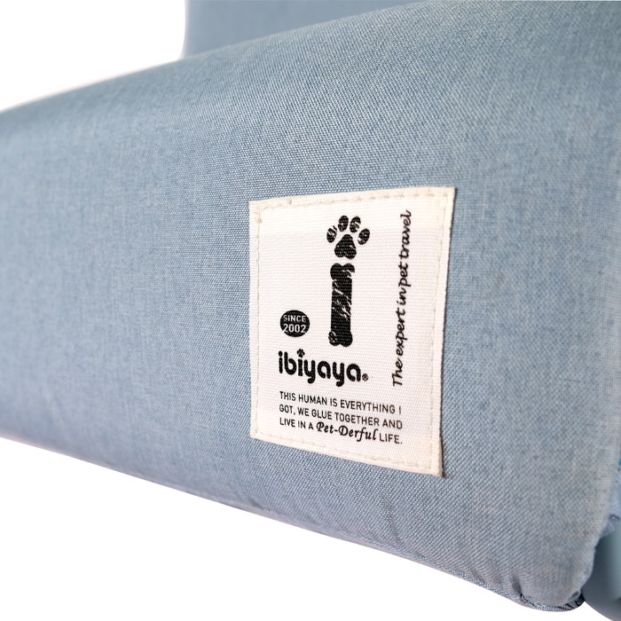 Ibiyaya Everest Collapsible Pet Stairs Dusty Blue