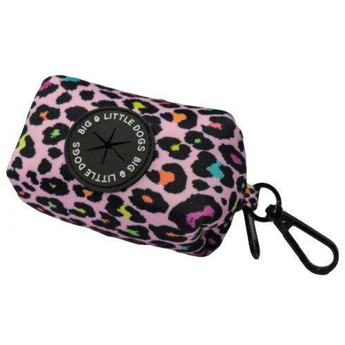 Big and Little Dogs_Poo Bag Holder_Spotted Leopard