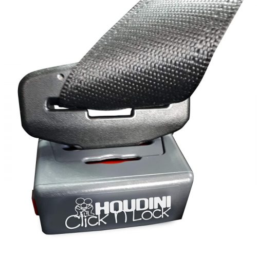 Houdini Click N Lock Seat Belt Buckle Guard