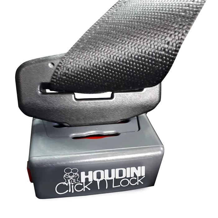 Houdini Click N Lock Seat Belt Buckle Guard