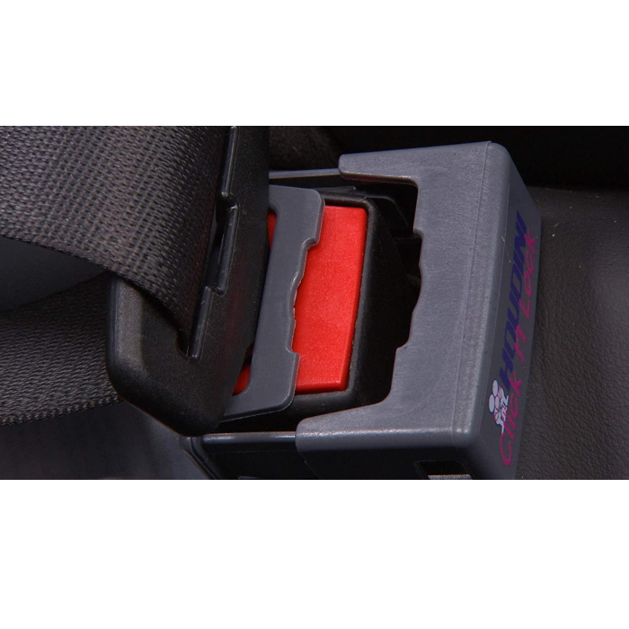Houdini Click N Lock Seat Belt Buckle Guard_open