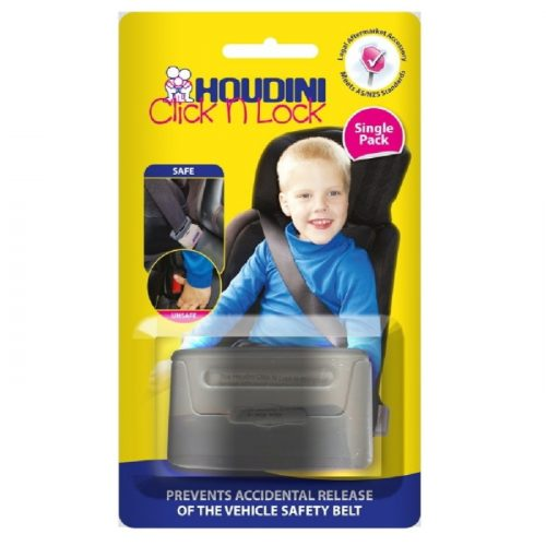 Houdini Click N Lock Seat Belt Buckle Guard_packaging