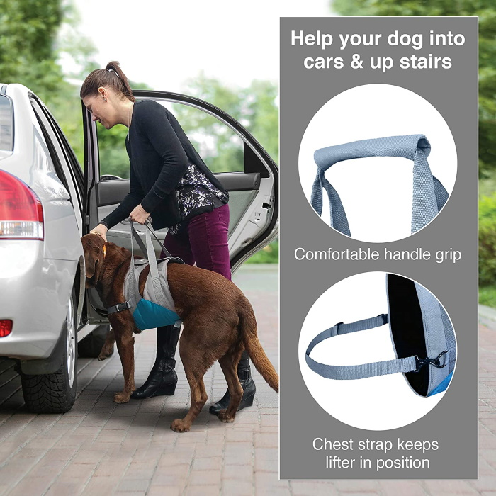 Kurgo Up & About Dog Lifter Harness_Features