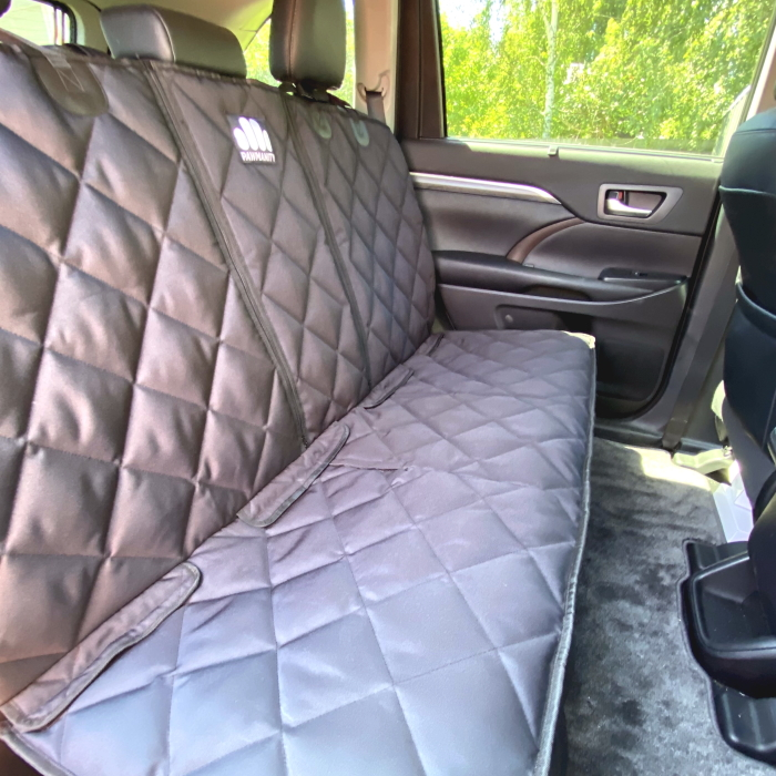 Luxurious Padded Pawmanity Bench Car Seat Cover