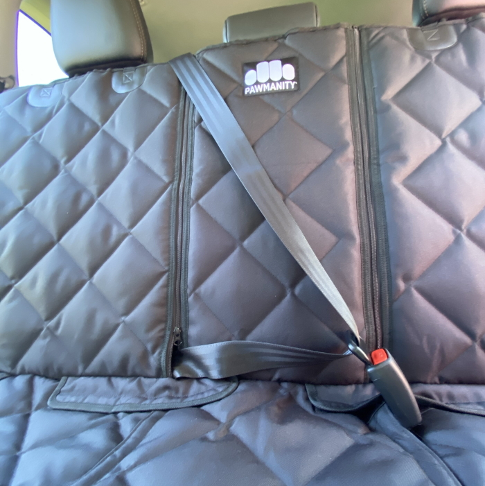 Padded Pawmanity Bench Car Seat Cover