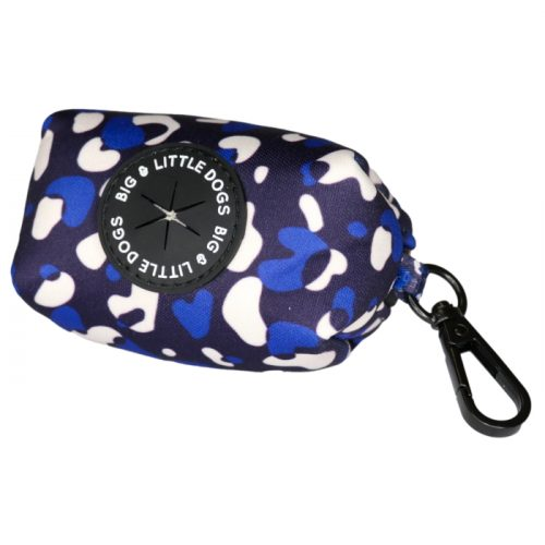 Big and Little Dogs_Poo Bag Holder_Winter Blues