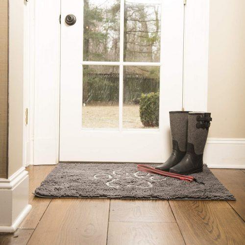 Dirty Dog Doormat Grey LS