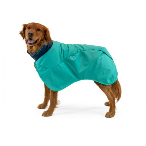 Ruffwear Dirtbag dog drying towel jacket_Aurora Teal