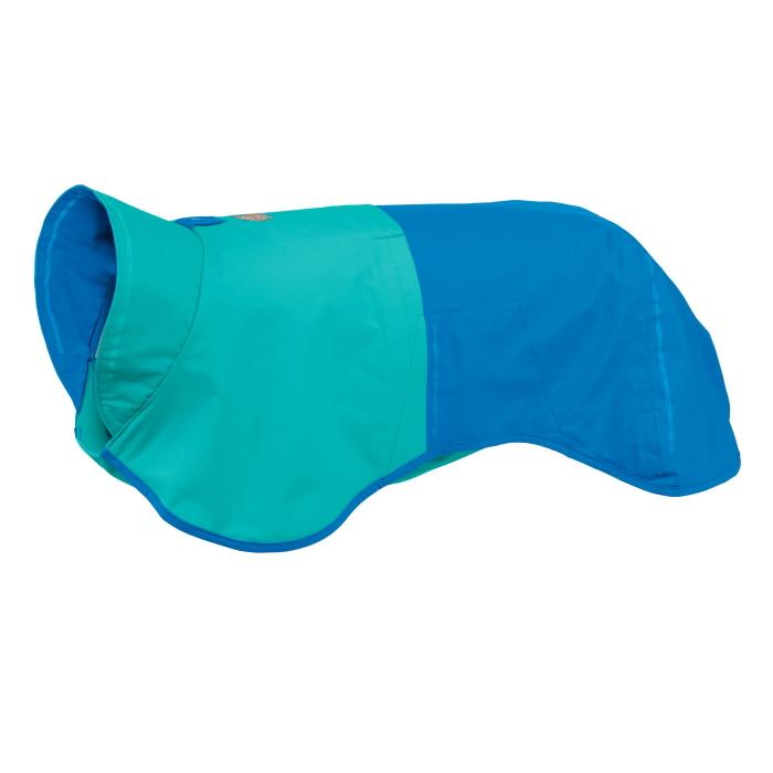 Ruffwear-Sun-Shower-Blue-Rain-Jacket-Dusk-Left-Angle