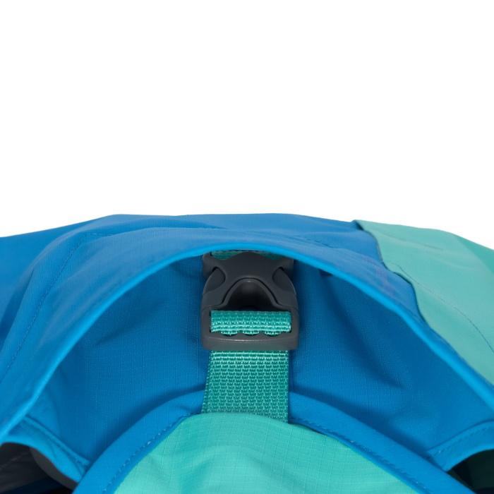 Ruffwear Sun Shower Rain Jacket-Blue-Dusk-Buckle-Detail