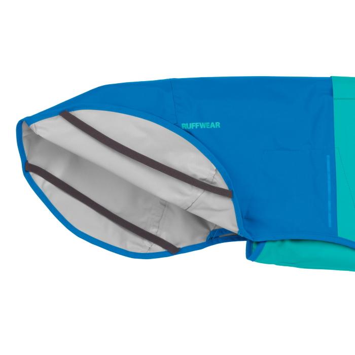 Ruffwear Sun Shower Rain Jacket Blue-Dusk-Leg-Loops