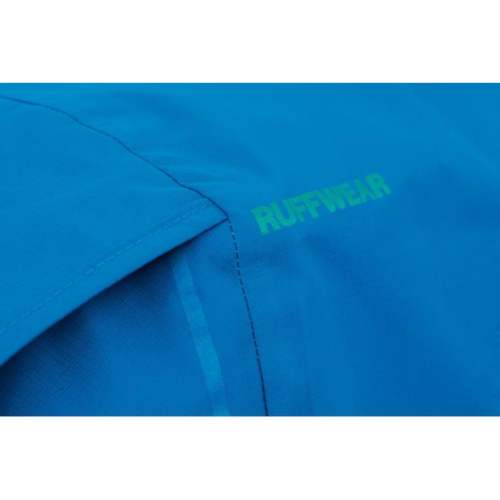 Ruffwear Sun Shower Rain Jacket-Blue-Dusk-Texture-Detail