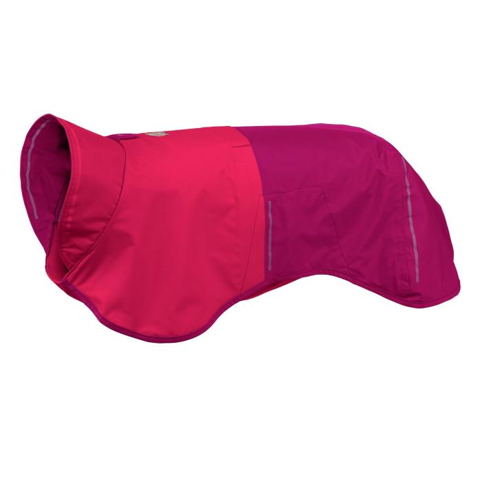 Ruffwear-Sun-Shower-Rain-Jacket-Hibiscus-Pink-Left-Angle