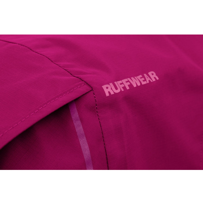 Ruffwear Sun Shower Rain Jacket-Hibiscus-Pink-Texture-Detail