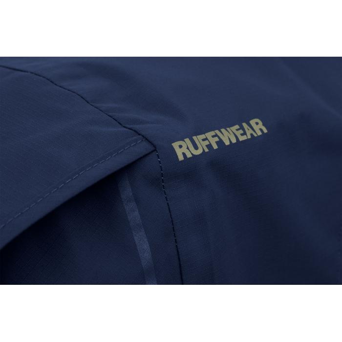 Ruffwear Sun Shower Rain Jacket-Midnight-Blue-Texture-Detail