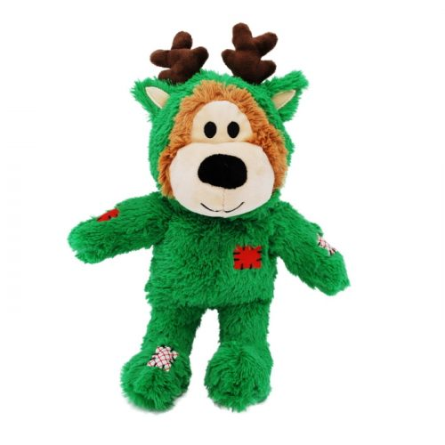 Kong Wild Knots Christmas Bear Green