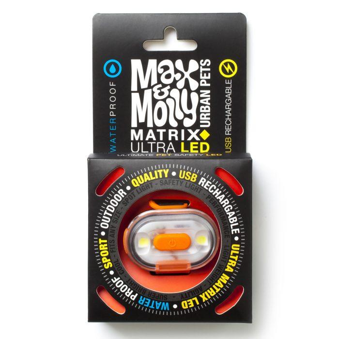 Max & Molly LED Dog Collar Sa