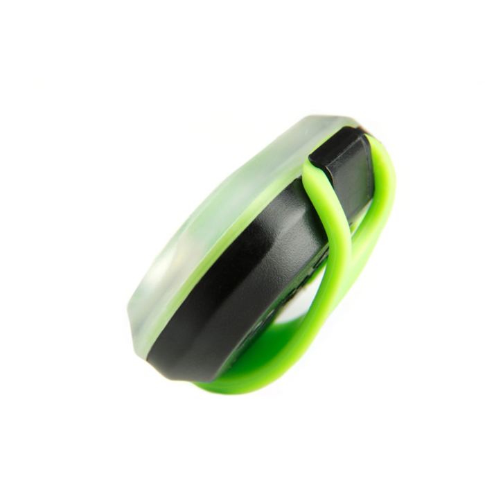 Max and Molly Safety LED Dog Collar Light_green_side