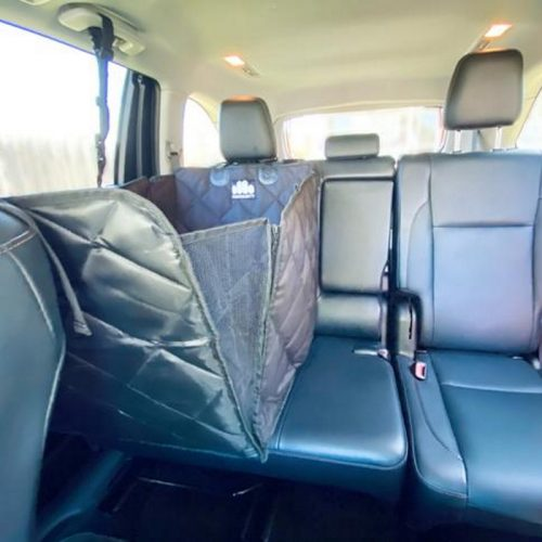 Pawmanity Half Hammock Dog Car Seat Cover Basket