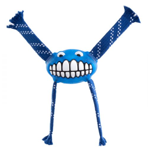 Rogz Flossy Grinz Dog Toy Blue